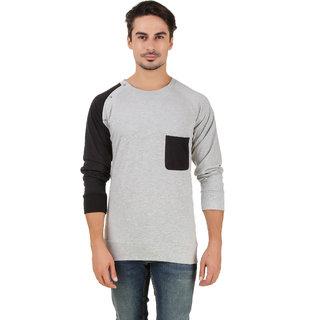 Aurelio Marco Stylish Designed Millange Black Round Neck Men T Shirt