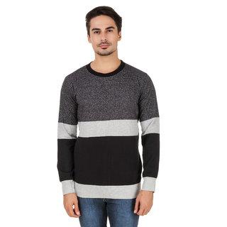 Aurelio Marco Stylish Designed Grindel Millange Black Round Neck Men T Shirt
