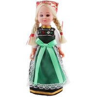 Magideal Vintage Costume Clothing Ethnic Doll Girl Toy Travel Souvenir Gift-Germany B