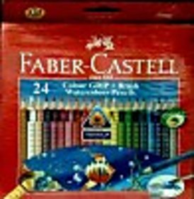 Faber-Castell Art Creation Triangular Shaped Color Pencils (Set Of 1, Red)