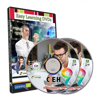 Certified Ethical Hacker v9 Video Training Course on 2 DVDs
