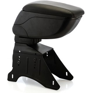 Petrox Premium Quality Car Arm Rest Console ( Black ) For Hyundai Grand i10