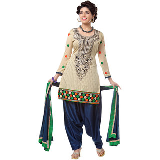 Snoby Gold Chanderi Suit (SBY-TFW68-01-G1)