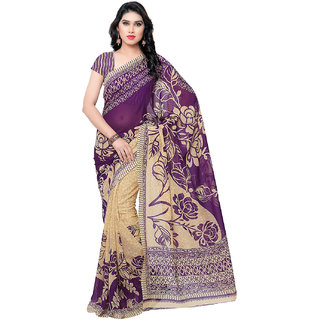 MELLUHA Purple Georgette