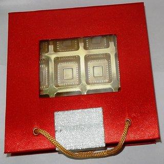 Designer chocolate packing box Red Golder - 12pcs chocolate