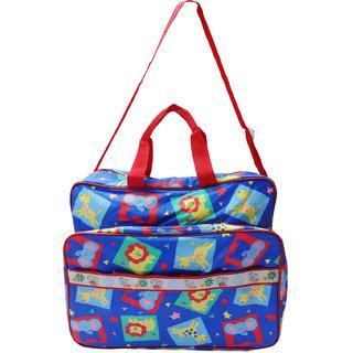 Wonderkids Animal Print Nursery Bag (Multicolor)