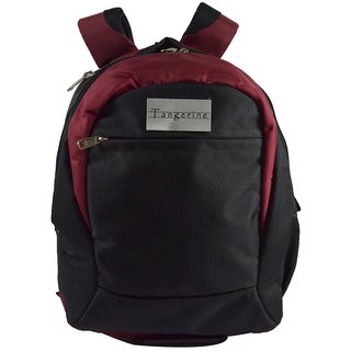 71ab39d7fa83 Buy angerine Laptop cum Office Travel Backpack Black and Maroon ...