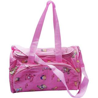 Wonderkids Hello Bear Diaper Bag Pink