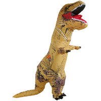 Magideal Large Inflatable T-Rex Blow Up Dinosaur Costume Party Fancy Dress Outfit