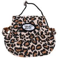Magideal Small Pet Dog Cat Kitten Leopard Baseball Hat Neck Strap Cap Sunbonnet M