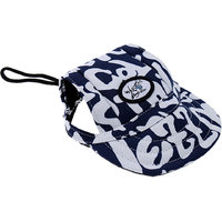 Magideal Small Pet Dog Cat Kitten Letters Baseball Hat Strap Cap Sunbonnet M Black