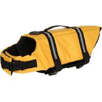 Magideal 4Pcs Pet Dog Cat Anti-Slip Waterproof Shoes Leopard Print Boots Yellow 6#