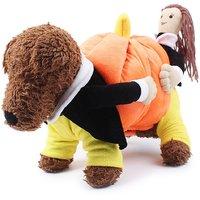 Magideal Pet Dog Cat Warm Clothes Fancy Pumpkin Costume Puppy Apparel Coat Jacket L