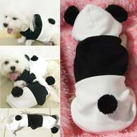 Magideal Dog Jumpsuit Winter Hoodie Puppy Cat Jumper Warm Clothes Outfit Costume M