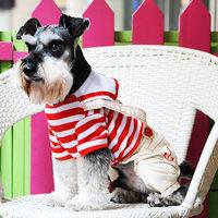 Magideal Pet Dog Cat Puppy Clothes Romper Costume Hoodie Jumpsuit Apparel Coat Red M