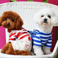 Magideal Pet Dog Cat Puppy Clothes Romper Costume Hoodie Jumpsuit Apparel Coat Red L