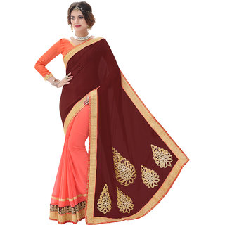 Fashionable Satin Saree For Women by Melluha