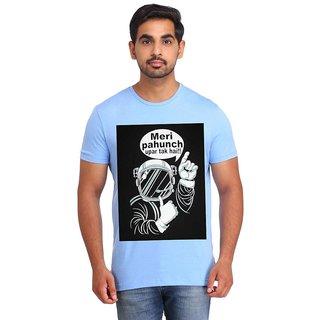 Snoby Meri pahcuh uper tak hai cotton printed T-shirt (SBY16405)
