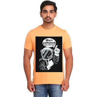 Snoby Meri pahcuh uper tak hai cotton printed T-shirt (SBY16409)