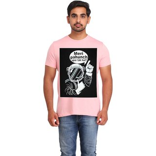 Snoby Meri pahcuh uper tak hai cotton printed T-shirt (SBY16410)