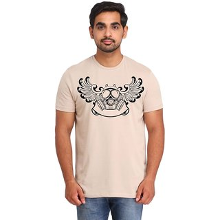 Snoby Printed Cotton T-shirt (SBY16429)