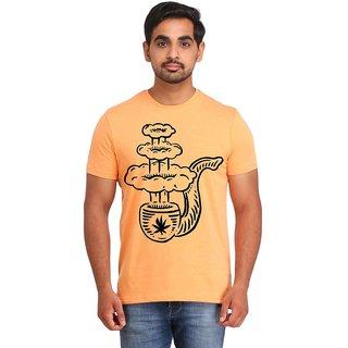 Snoby Huka baar cotton printed T-shirt (SBY16444)