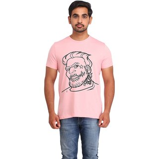 Snoby Joker cotton printed T-shirt (SBY16508)