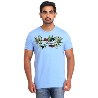 Snoby Charm cotton printed T-shirt (SBY16510)