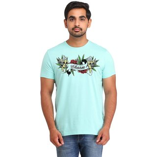 Snoby Charm cotton printed T-shirt (SBY16511)