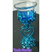 Diwali Decoration  Home Decor Special Glass Stand With Candle