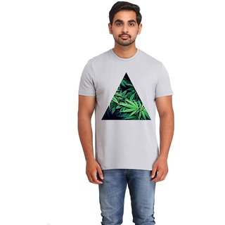 Snoby weed Leaves cotton printed T-shirt (SBY16540)