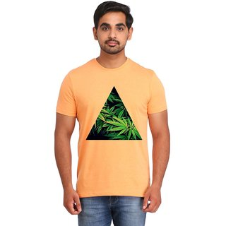 Snoby weed Leaves cotton printed T-shirt (SBY16542)