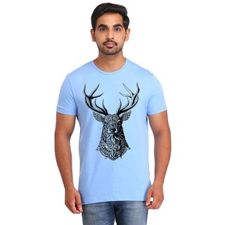 Snoby Deer cotton printed T-shirt (SBY16594)