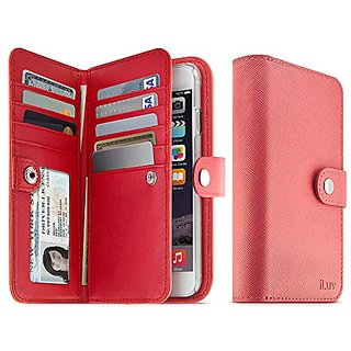 Jstyle Runway By Iluv - Leather Wallet Case (4.7