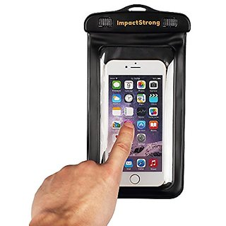 Waterproof Case, Impactstrong Waterproof Pouch Bag Case For Iphone 6 Plus/6/ 6S/6S Plus/5S/5/5C, Samsung Galaxy S6/S6 Edge/S5/S4/Note 5/Note 4/3/2, ...