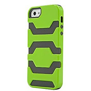 Lifeworks The Gladiator - Two Piece Rugged Case For Iphone 5/5S (Green)
