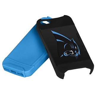 Forever Collectibles Nfl Hideaway Credit Card Iphone 5 Hard Case - Carolina Panthers