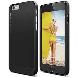 Elago S6 Outfit Aluminum and Polycarbonate Dual Case for the iPhone 6 - 4.7inch - Black
