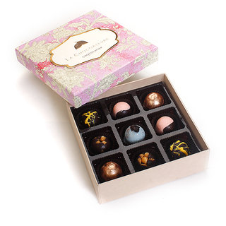 La Chocoallure Birthday Treat 9 Pcs. Box