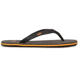 ca79630f13b0 Buy Puma Webster Ind. Men s Black Flip Flops Online   ₹1399 from ...