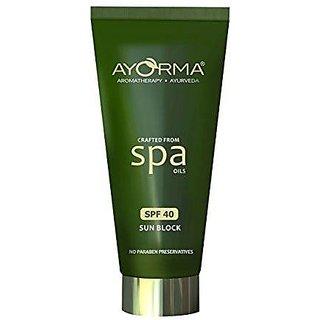 Ayorma Spf 40 Sun Block, 50 Gm