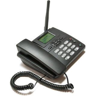 Huawei ETS3125i SIM enabled Cordless with FM Radio-BLACK