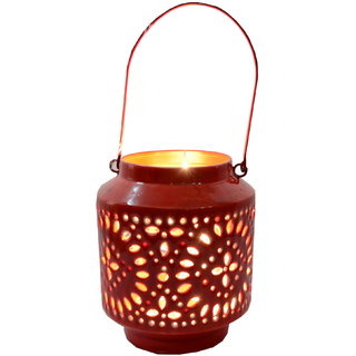 Table Top Iron Lantern Votive