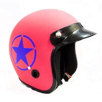 Autofy - Trust - Front Open Helmet (Pink)