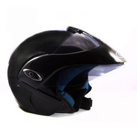 Autofy - O2 - Open Face Helmet (Black)