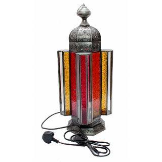 Iron/glass lantern