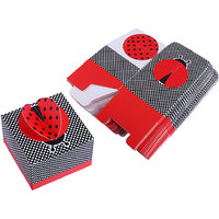 Magideal 50pcs Baby Shower Wedding Party Favour Gift Candy Boxes Red