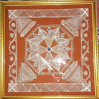 Handmade Mandna Paintings