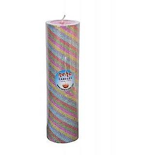 Long Round Colour Pillar
