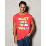 Fopping Men's T-Shirts-Red